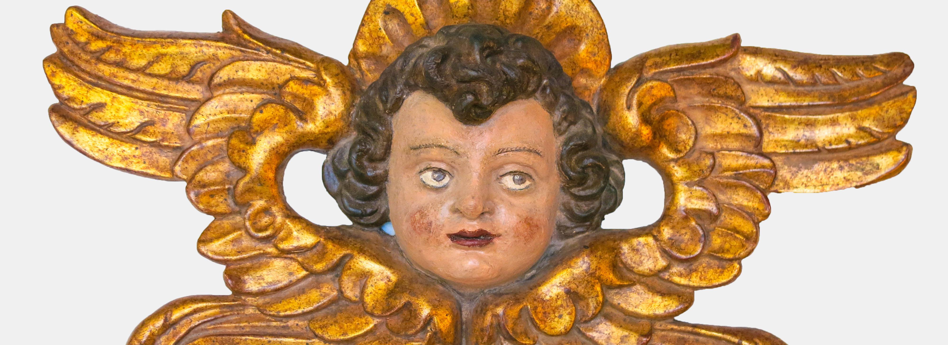 Moergeli-Bilderrahmen-Restaurierung-Engel